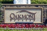 Oakmont Estates sign