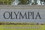 Olympia sign
