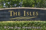 The Isles At Wellington sign